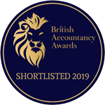 British Accountancy Awards - Shortlisted 2019